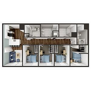 Floorplan image for D2 4x4