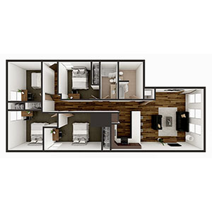 Floorplan image for D2 4x2