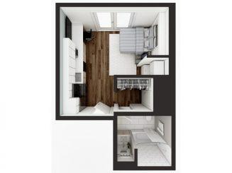 M2 Murphy Floor plan layout