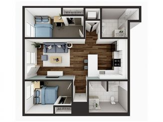 B4 Floor plan layout