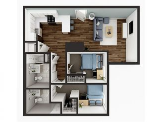 B5 Floor plan layout